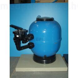 Üvegszálerősítéses poliészter tartály kezelőszeleppel D500