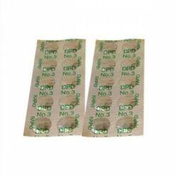 10 db DPD3 indikátor tabletta